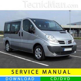 Nissan Primastar service manual (2001-2014) (EN-FR-ES)