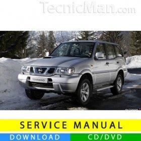 Nissan Terrano II service manual (1993-2006) (EN)