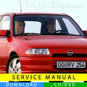 Opel Astra F service manual (1991-1998) (EN)