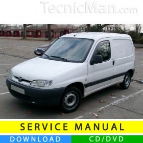 Peugeot Partner/Ranch I service manual (1996-2007) (EN)
