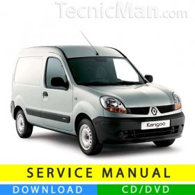 Renault Kangoo service manual (1997-2007) (EN-FR-ES)