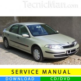 Renault Laguna II service manual (2001-2007) (EN-FR-ES)
