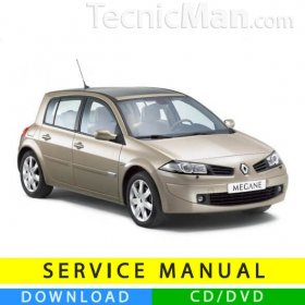 Renault Megane II service manual (2002-2008) (EN-FR-ES)