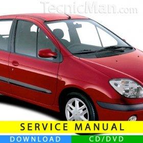 Renault Scenic service manual (1997-2003) (EN)