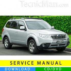 Subaru Forester service manual (2008-2010) (EN)
