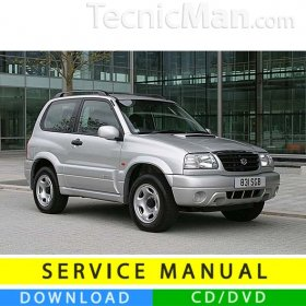 Suzuki Grand Vitara service manual (1998-2005) (EN)