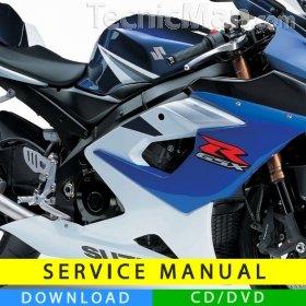 Suzuki GSX-R 1000 service manual (2005-2006) (EN)