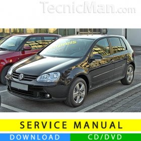 Volkswagen Golf V service manual (2003-2008) (IT)
