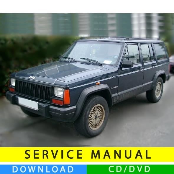 2001 jeep cherokee shop service repair manual se sport classic.