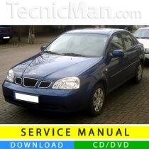 Daewoo-Chevrolet Nubira J200 service manual (2003-2009) (EN)