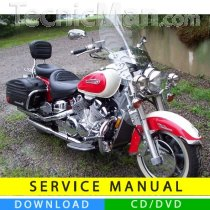 Yamaha Royal Star service manual (1996-2010) (EN)