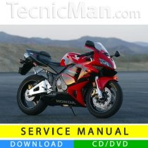 Honda CBR 600 RR service manual (2003-2004) (IT)