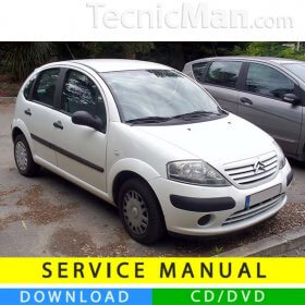 Citroen C3 service manual (2002-2009) (IT)