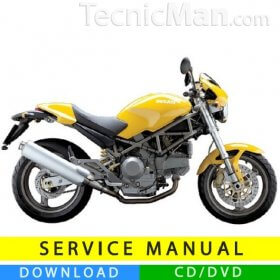 Ducati Monster 400/620 service manual (2003-2004) (EN-IT)