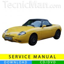 Fiat Barchetta service manual (1994-2005) (Multilang)