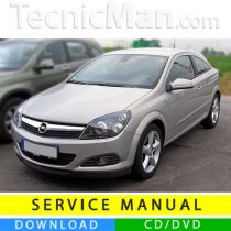 Opel Astra H service manual (2004-2010) (EN-IT)