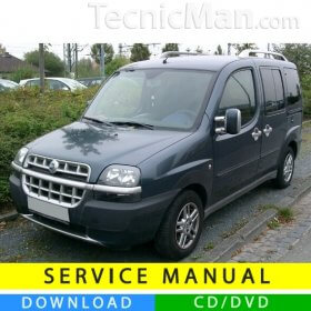 Fiat Doblò service manual (2000-2010) (Multilang)