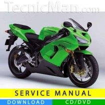 Kawasaki ZX-6R 636 service manual (2005-2006) (IT)