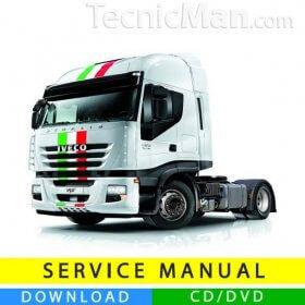 Iveco Stralis service manual (2002-2006) (EN)