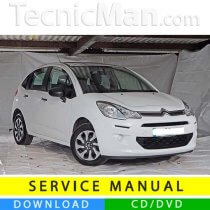 Citroen C3 service manual (2009-2016) (IT)