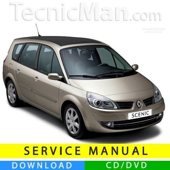 Renault Grand Scenic 2 service manual (2003-2009) (EN)