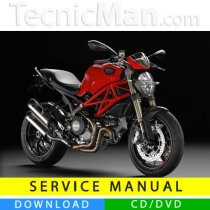 Ducati Monster 1100 EVO service manual (2011-2013) (MultiLang)