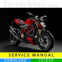 Ducati Streetfighter service manual (2009-2014) (MultiLang)