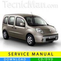 Renault Kangoo 2 service manual (2007-2019) (EN-FR-ES)