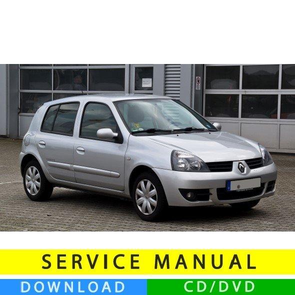 Renault Clio 2: Renault Clio 2 Service Manual (1998-2012) (MultiLang